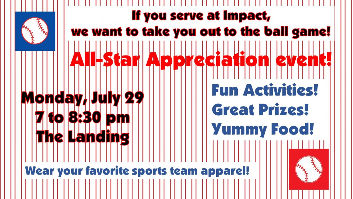 All-Star Appreciation Event