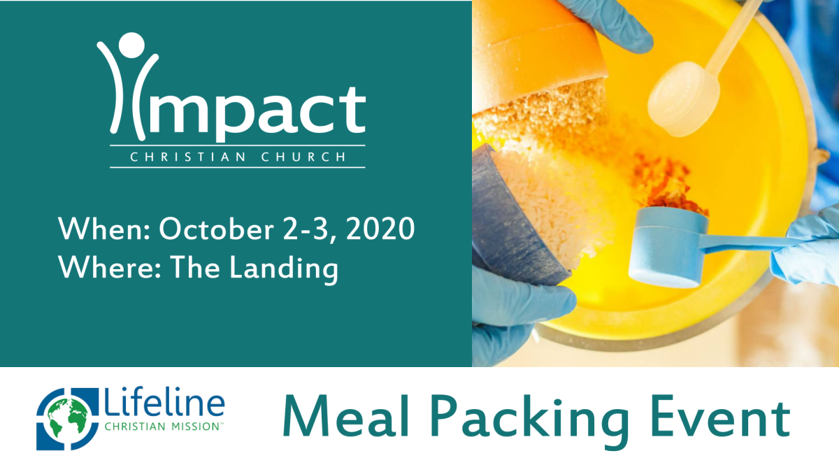 Lifeline Meal Packing Event to Benefit the Navajo Nation - Saturday